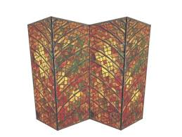 Glass Panel Room Divider Second Life Marketplace Stained Glass 3 Panel Screen Room