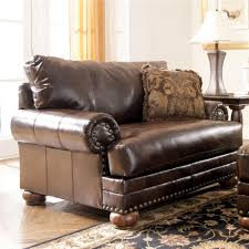 tufted leather chair and ottoman furniture in brooklyn at gogofurniture com