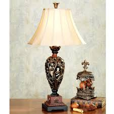 Silver Nightstand Lamps Antique Table Lamps In Antique Silver Table Lamp With Wheat