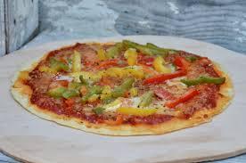 poivron cuisine pizza aux poivrons la p tite cuisine de pauline