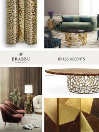 brass accents the trendiest materials for your home decor in