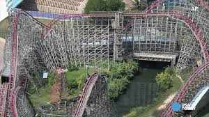Six Flags Magic Mountain California Hours Tree Branch Derails Six Flags Roller Coaster