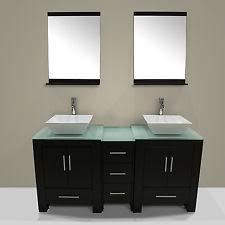 cheap double sink bathroom vanities double sink bathroom vanity ebay