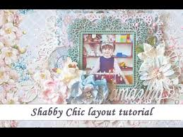 shabby chic scrapbooking layout tutorial for studio75 by ola