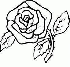 imagenes para colorear rosas dibujo de rosa dibujo para colorear de rosa dibujos infantiles de