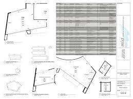 Juice Bar Floor Plan Furniture Schedule J Wood