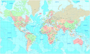 world map political with country names world map desktop wallpaper 0