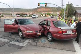 what is considered running a red light red light run results in main street collision st george news