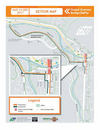 Canyon City Colorado Map by Grand Avenue Bridge U2014
