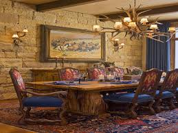 Western Dining Room Tables by Rustic Dining Room Lighting French Country Dining Room Western