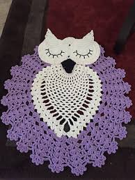Purple Owl Rug Ravelry Sleepy Owl Rug Pattern By Luciana Assunção