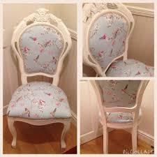 gorgeous shabby chic style bedroom louis chair in dunelm duck egg