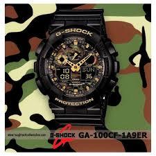 Negara Pembuat Jam Tangan Casio jam tangan casio g shock ga 100 cf 1a9dr elevenia