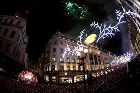 regent u0027s street christmas lights turned on londontopia