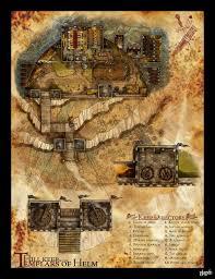 Dnd Maps Dnd Map The Templar Hill Fort By Stormcrow135 On Deviantart