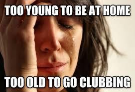 Saturday Night Meme - as a year old man i feel this every saturday night meme guy
