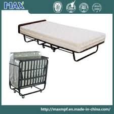 Portable Folding Bed China Hotel Portable Spring Metal Cot Folding Bed Dubai China