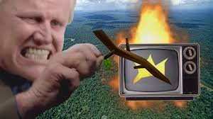 Stick Memes 28 Images Funny - ytp quickie gary busey sets fire to the rainforest youtube