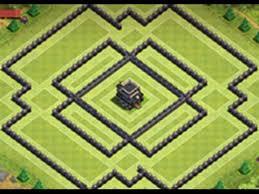 layout vila nivel 9 clash of clans melhor layout hibrido para centro de vila nivel 9 nova atualização