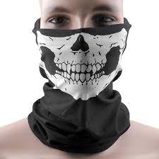 ghost rider mask ebay amazon com unique stretchable windproof black tribal classic