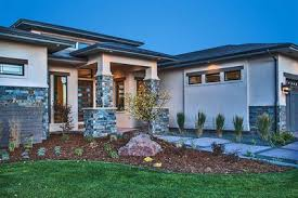 modern prairie house plans stylish prairie mountain modern house plan 95033rw