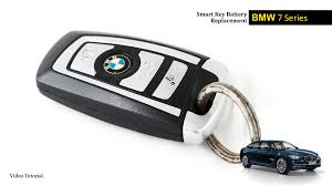 replacement key for bmw 5 series bmw 7 series smart key battery change