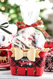Food Gift Baskets Christmas - oreo peppermint bark food gift wrapping ideas a pumpkin and a