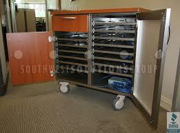 laptop charging station pc carts portable electronic charging stations laptop phone