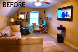 one room home home tour our bonus room guest room theater room and playroom