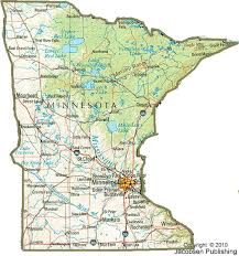 minnesota topographic map mn shaded relief map fullscreen