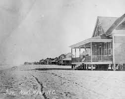 outer banks throwback nags head beach cottage row historic