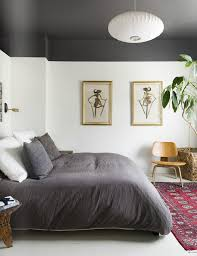 bedroom lighting painted statement ceiling inspiration master