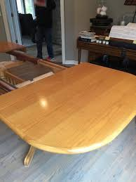 refinish dining room table how to refinish a dining room table