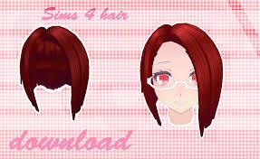 mmd sims 4 hair download dl by milionna on deviantart