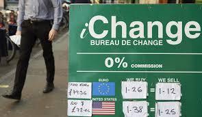 bureau de change livre sterling la livre sterling s effondre au dollar le temps