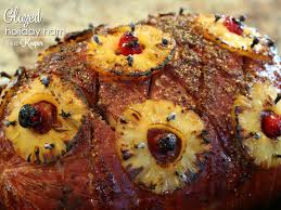 thanksgiving ham recipes with pineapple glazed holiday ham it is a keeper