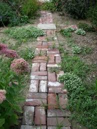 Garden Path Edging Ideas Brier Studio The Garden Path Made From Reclaimed Bricks