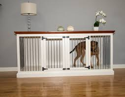 pet room dividers eagle furniture manufacturing cozy k 9 double wide large credenza