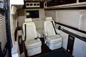 Sprinter Bench Seat Mercedes Jet Sprinter Luxury Ride Usa