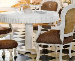custom round box pleated ruffle tablecloth perfect table
