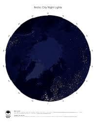 Arctic Ocean Map Map Arctic Ocean Ginkgomaps Continent Ocean And Sea Region