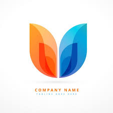 design free logo download abstract colorful logo design vector free download