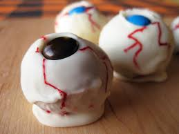 halloween dessert ideas eyeball cake balls paleo recipes