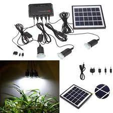 Outdoor Solar Panel Lights - solar led light kit ebay