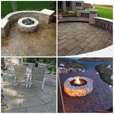 Large Patio Design Ideas by Bar Furniture Raised Stamped Concrete Patio Raised Concrete