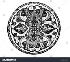 handmade turkish ornaments isolated on white stock photo 28231234