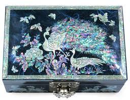 peacock blue ring box madd design com modern asian decor design