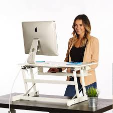 Sit Stand Desks Standing Desk The Deskriser Height Adjustable Heavy Duty Sit