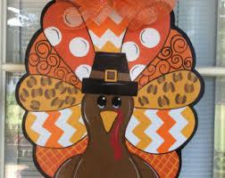 turkey decorations etsy