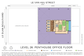 the office floor plan deutsches haus ho chi minh city